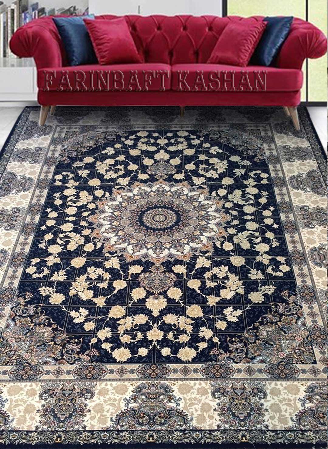 نمای بافته شده فرش ماهور
