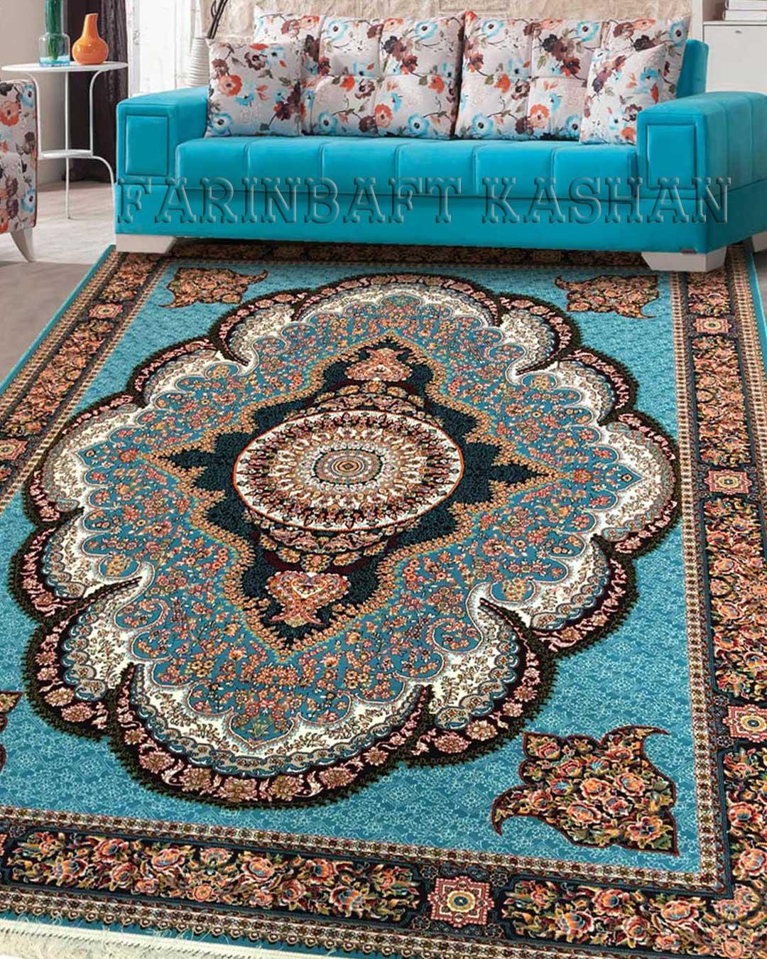 نمای بافته شده فرش آرشیدا