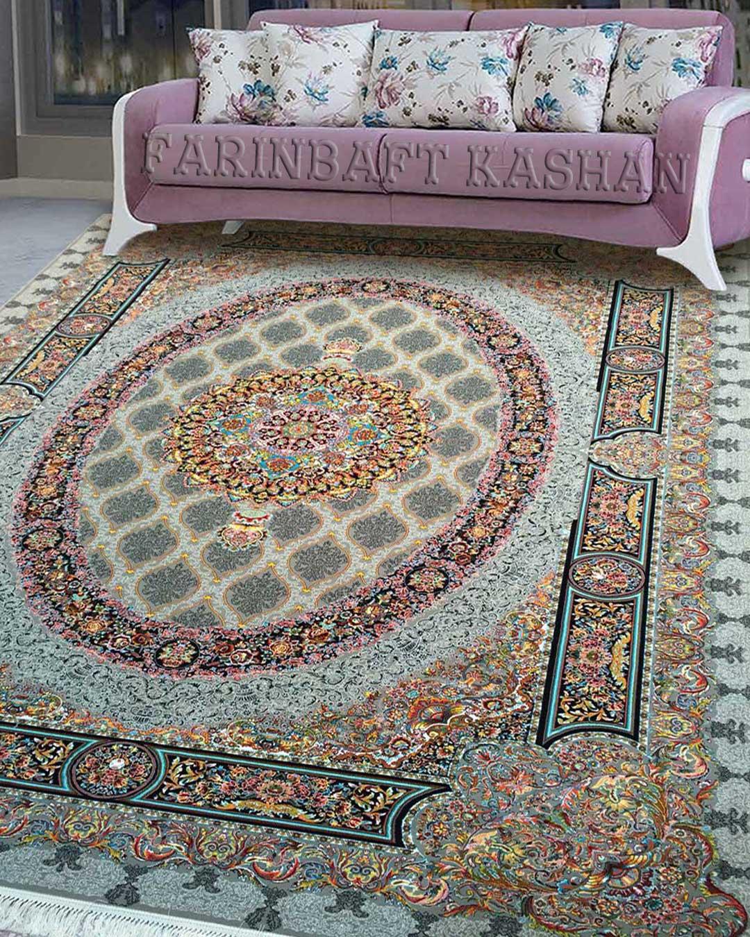 نمای بافته شده فرش فلورانس
