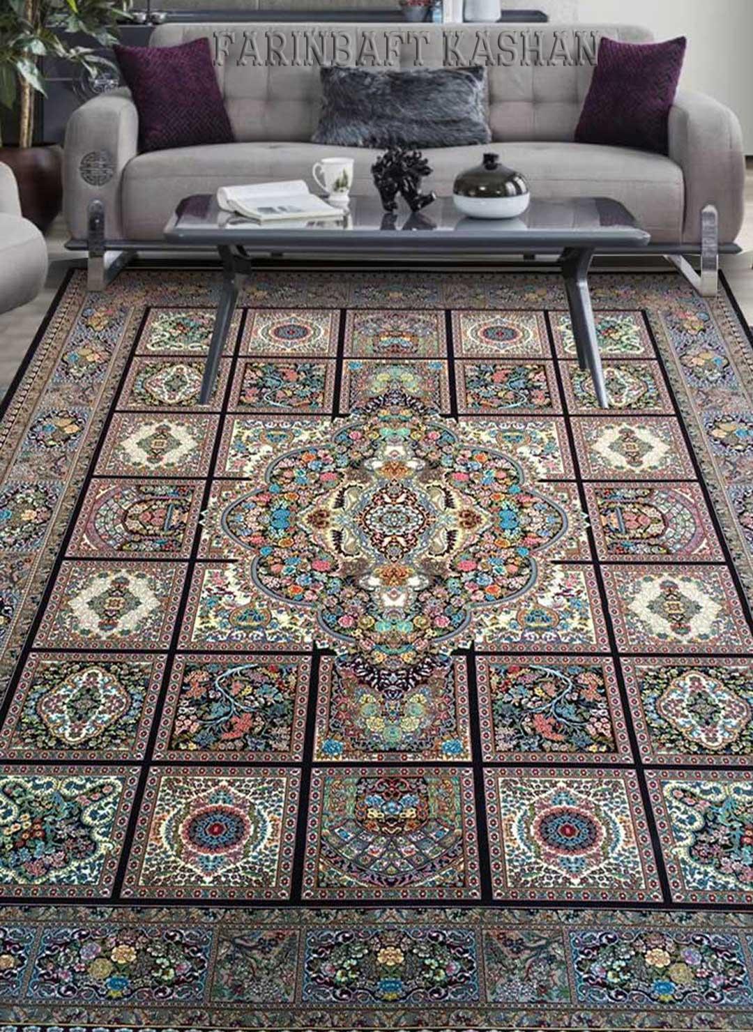 نمای بافته شده فرش کژال