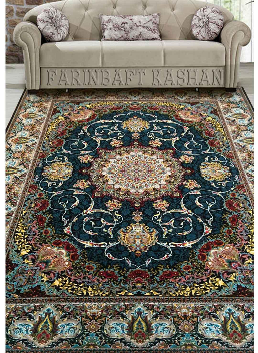 نمای بافته شده فرش مهرنوش