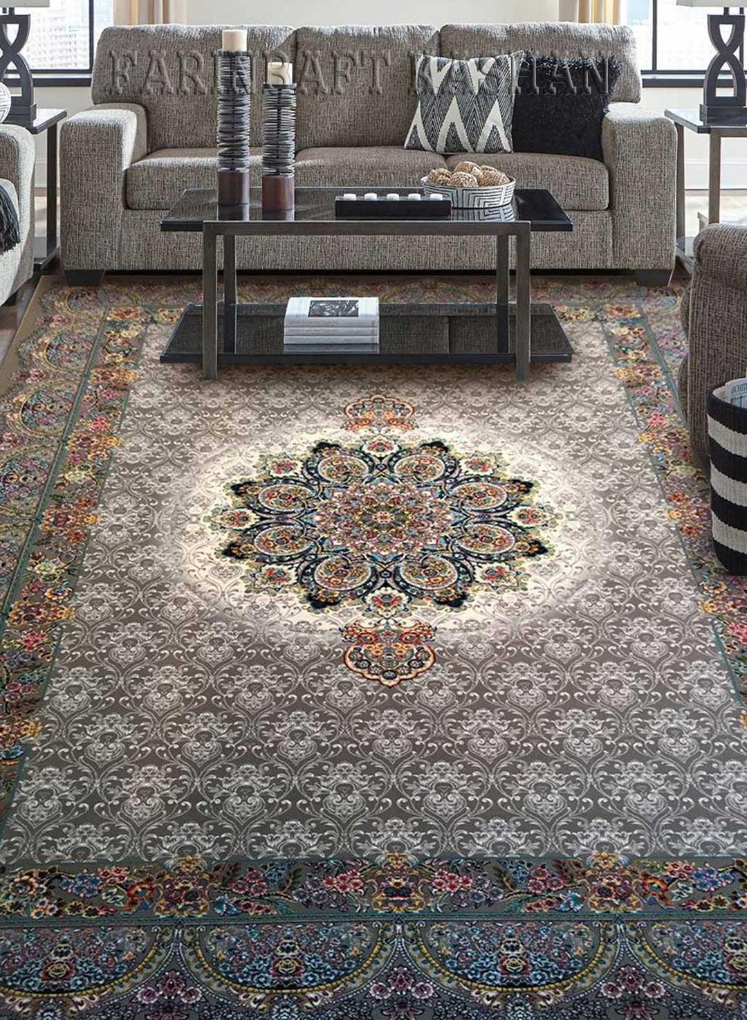 نمای بافته شده فرش اطلس