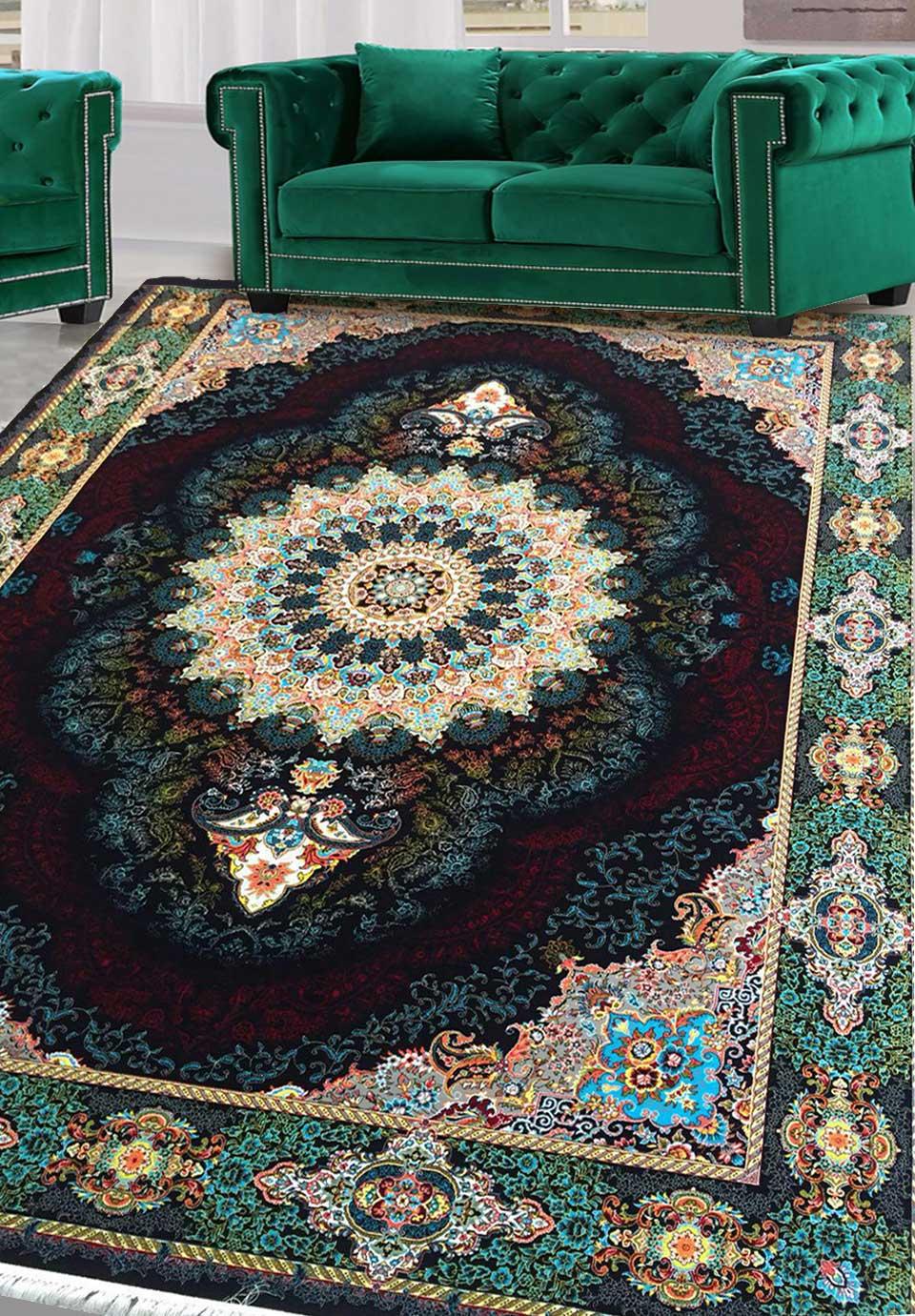 نمای بافته شده فرش یکتا