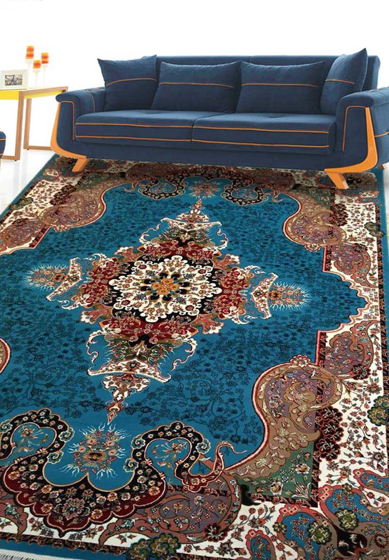 نمای بافته شده فرش الی