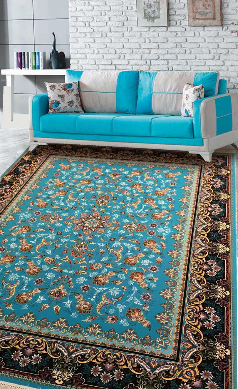 نمای بافته شده فرش هلما