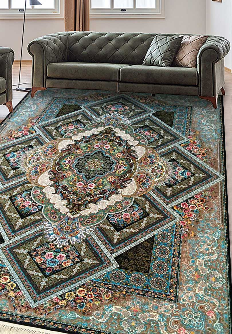 نمای بافته شده فرش جردن