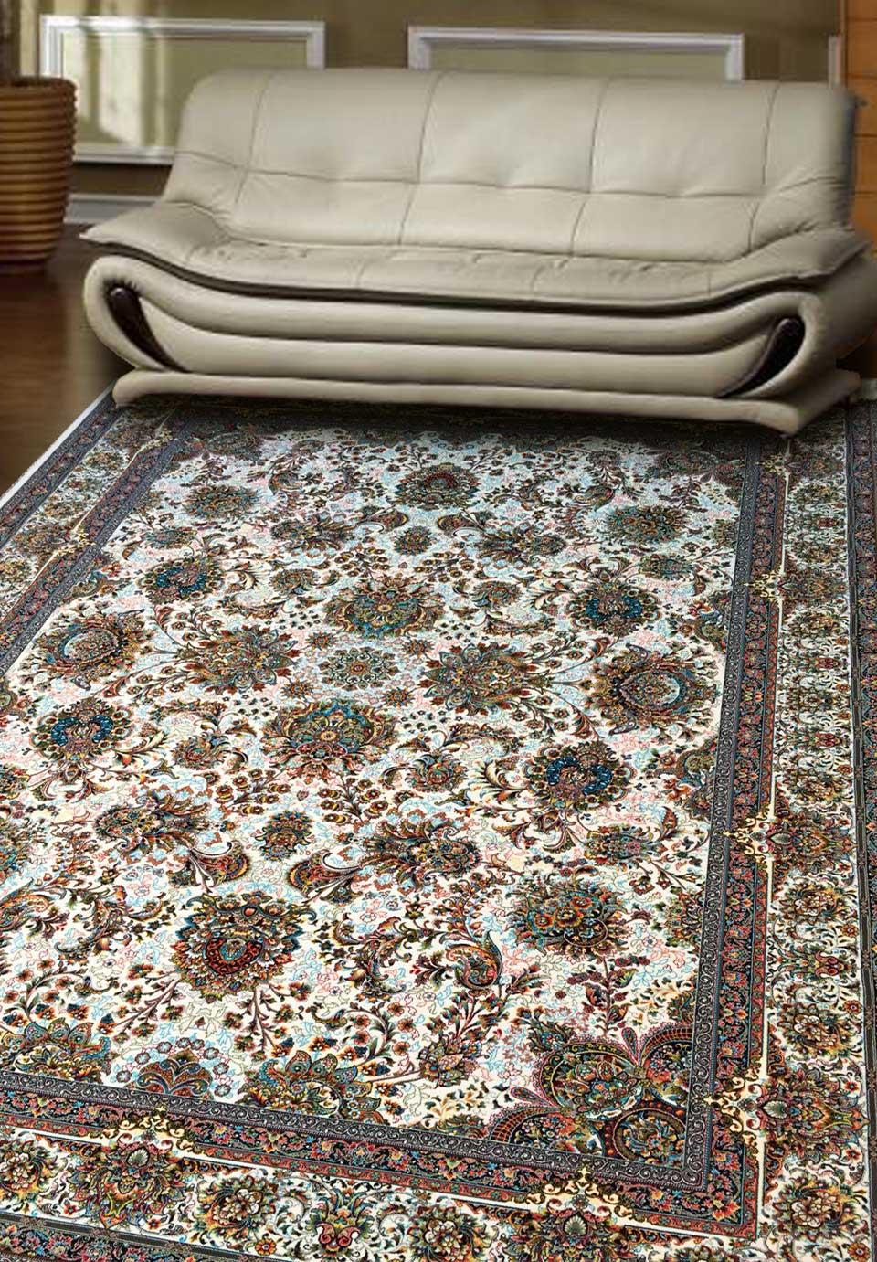 نمای بافته شده فرش یاشار