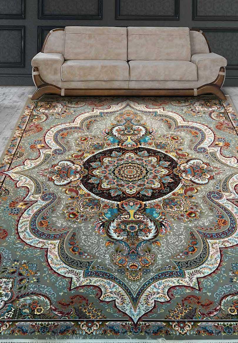 نمای بافته شده فرش شهیاد