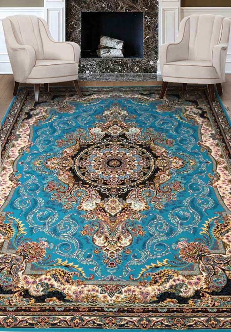 نمای بافته شده فرش پرنیان