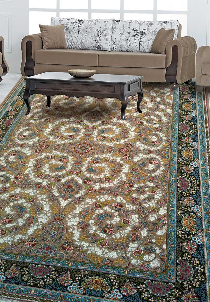 نمای بافته شده فرش افشان شاهانه