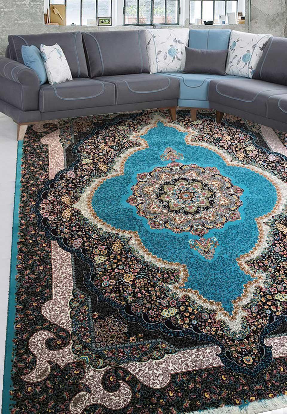 نمای بافته شده فرش سلطان