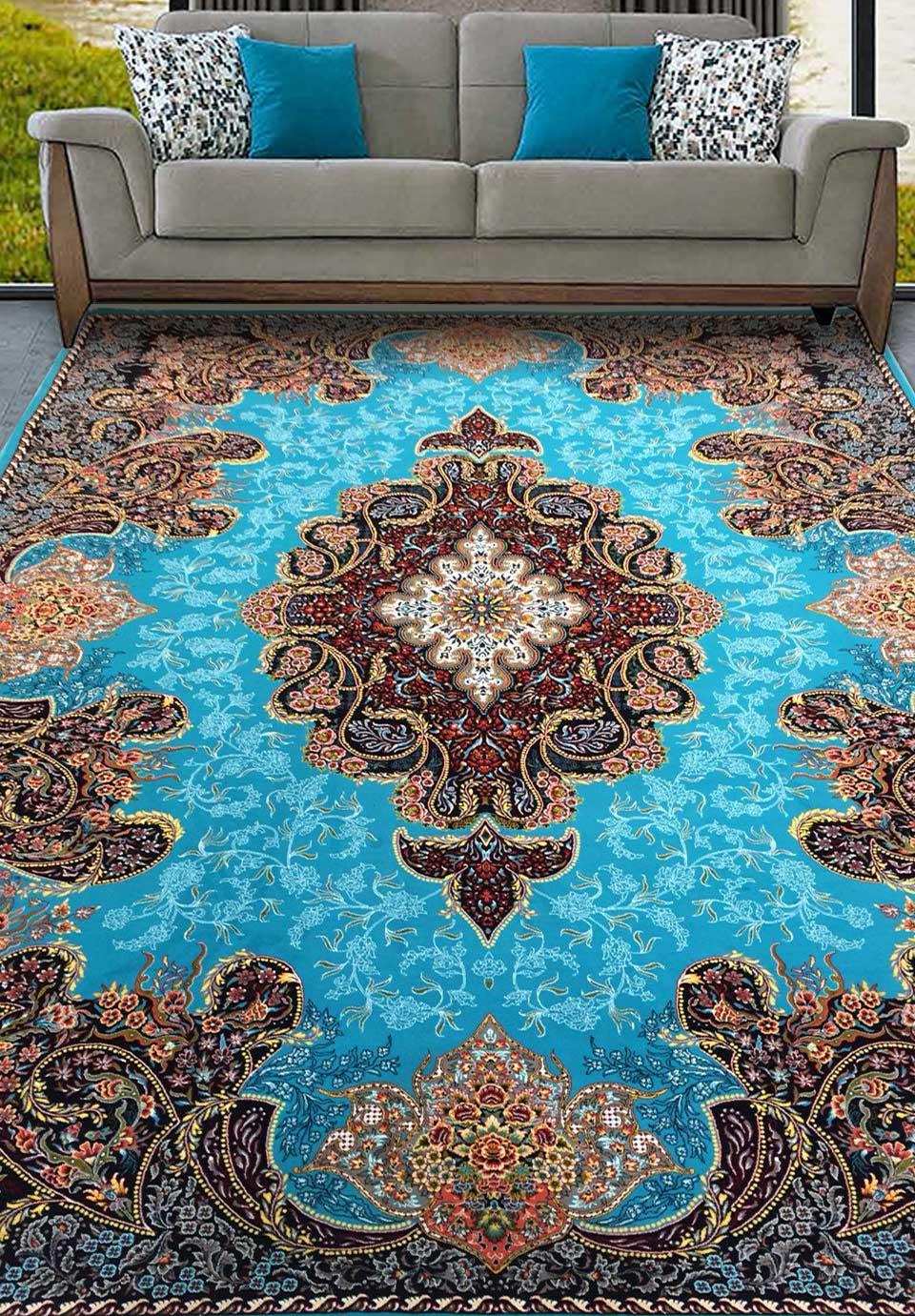 نمای بافته شده فرش شهرزاد