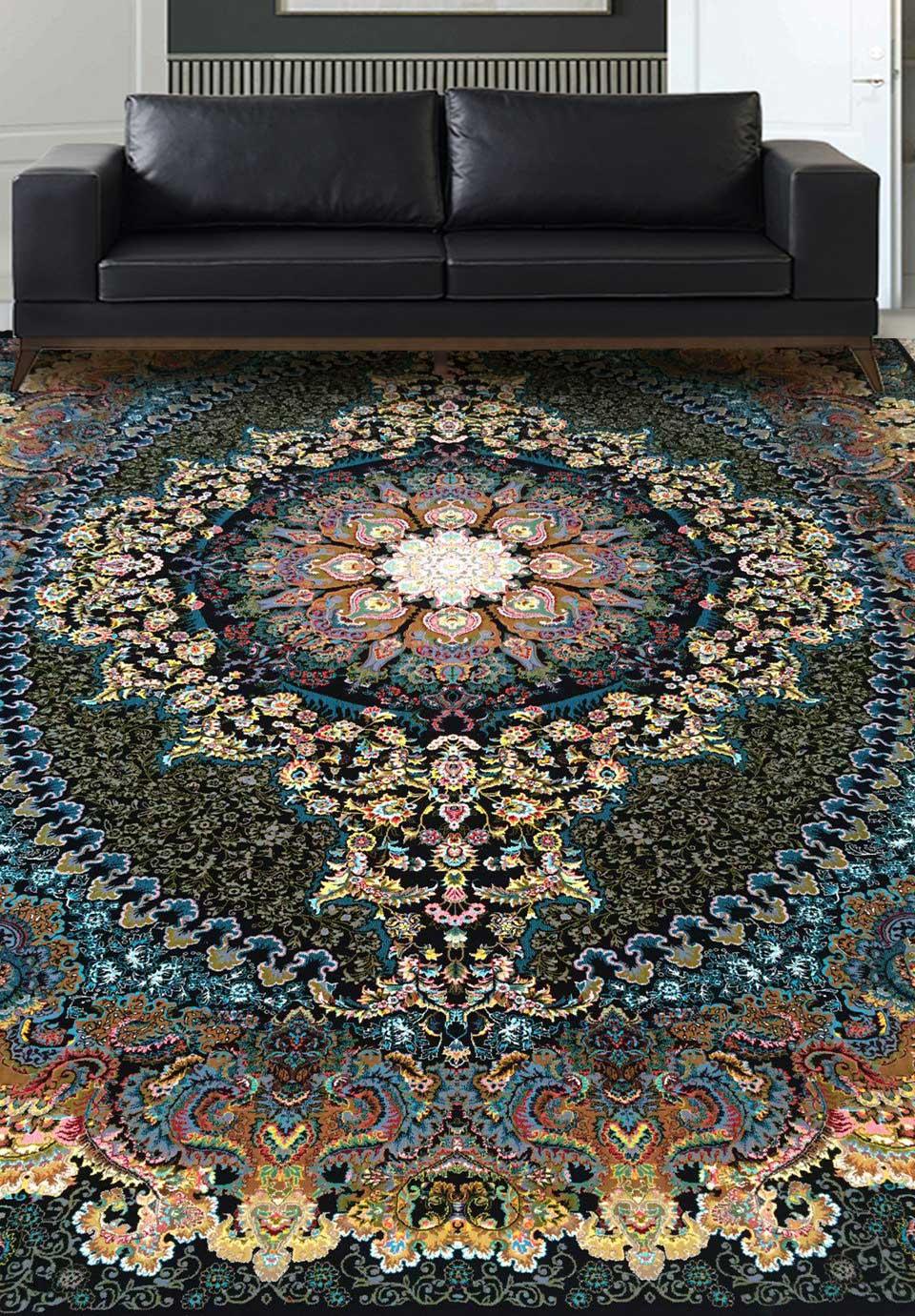 نمای بافته شده فرش ترانه