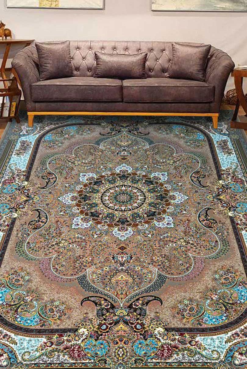 نمای بافته شده فرش نسترن