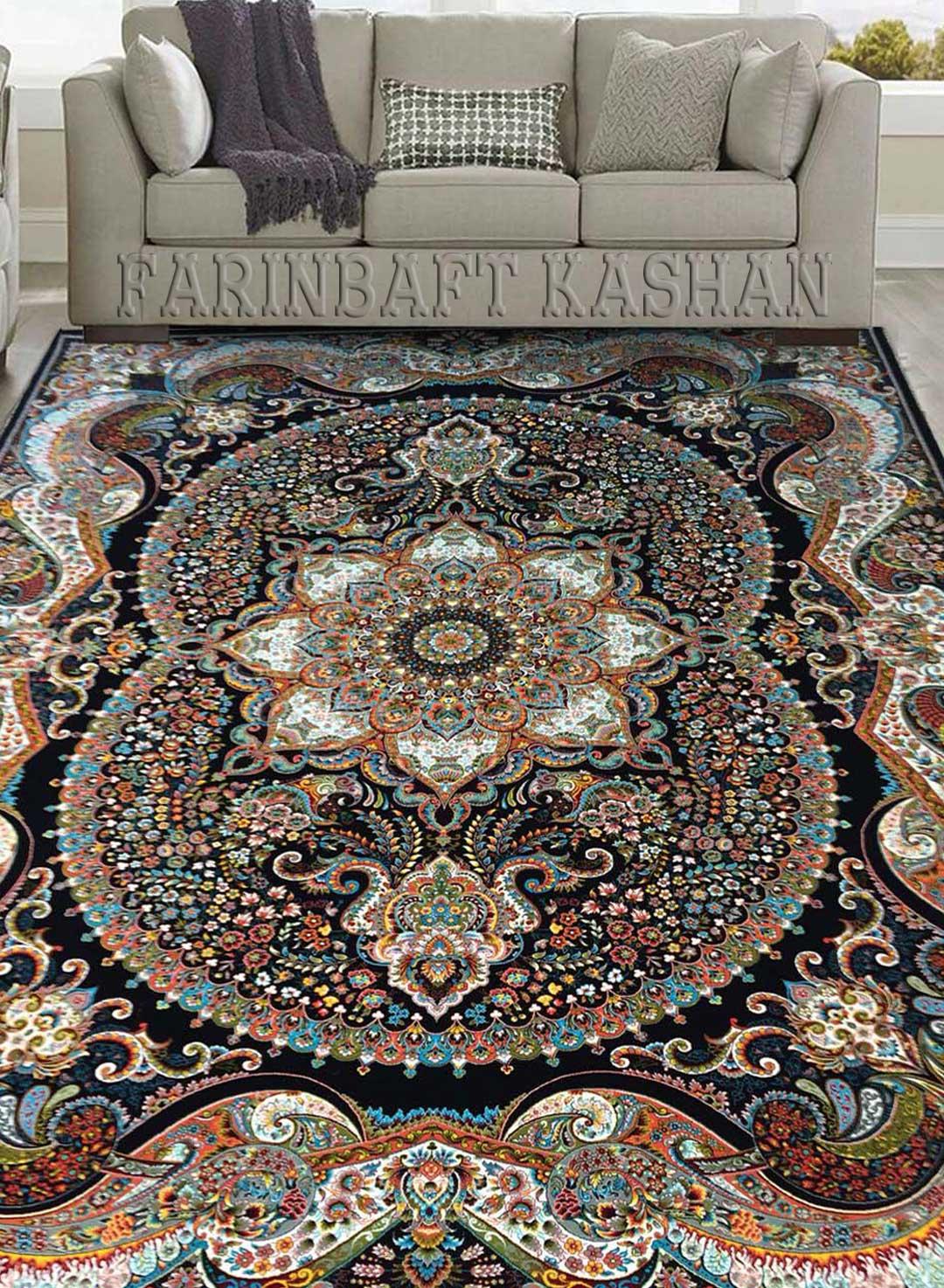 نمای بافته شده فرش چیچک