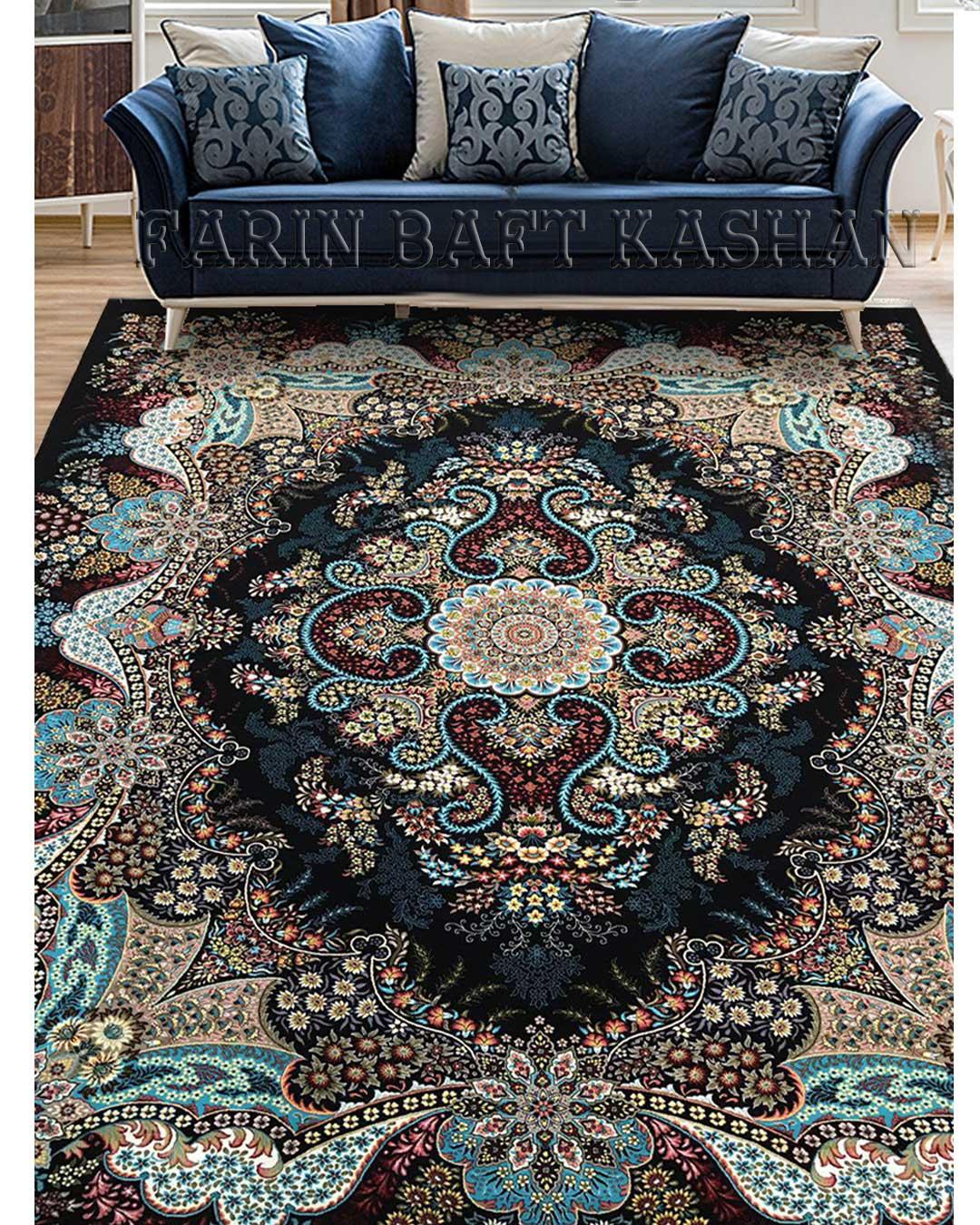 نمای بافته شده فرش اهورا