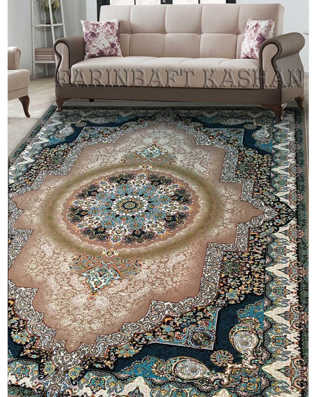 نمای بافته شده فرش الماس