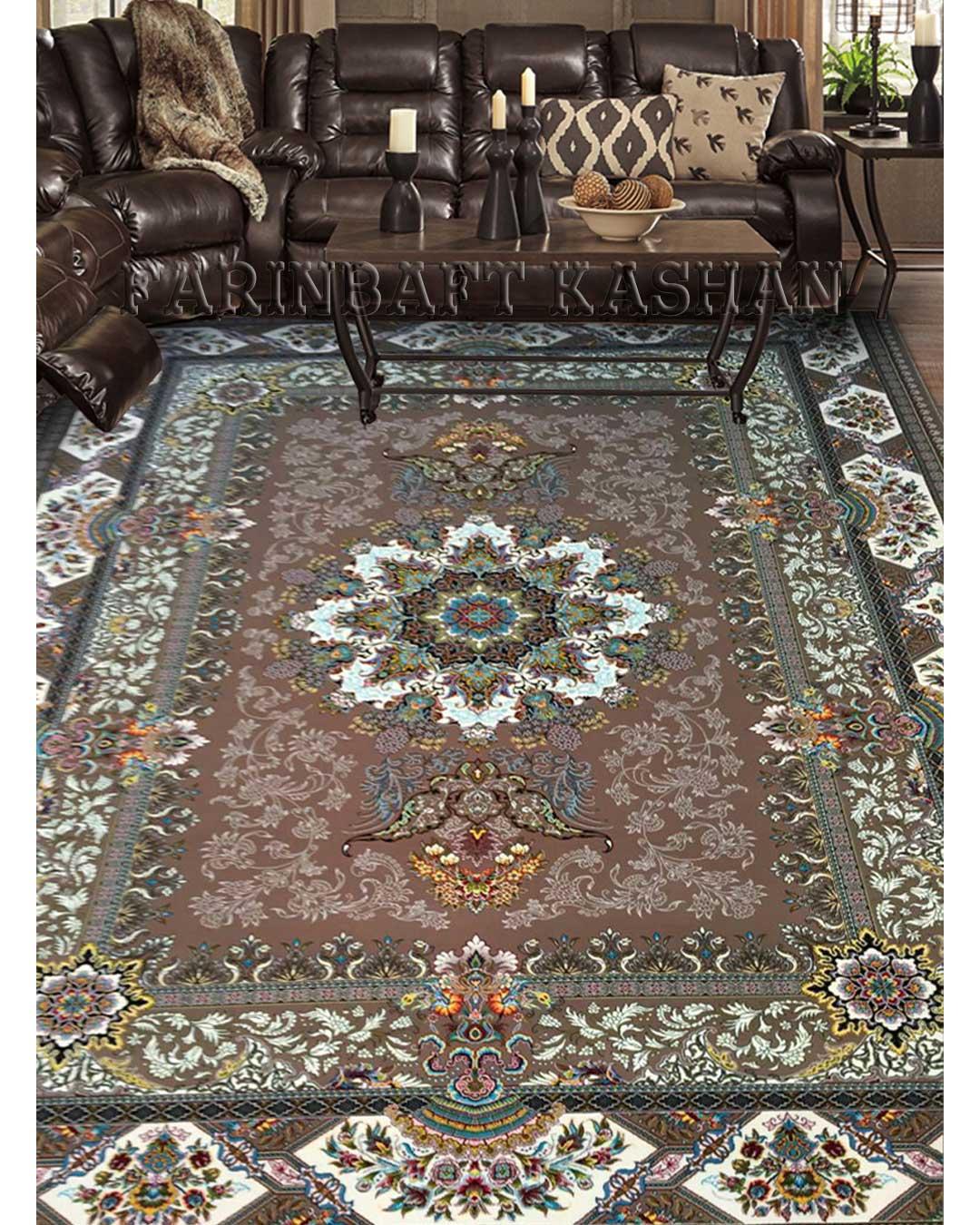 نمای بافته شده فرش الیسا