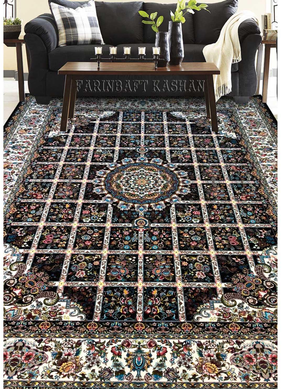 نمای بافته شده فرش گلسا