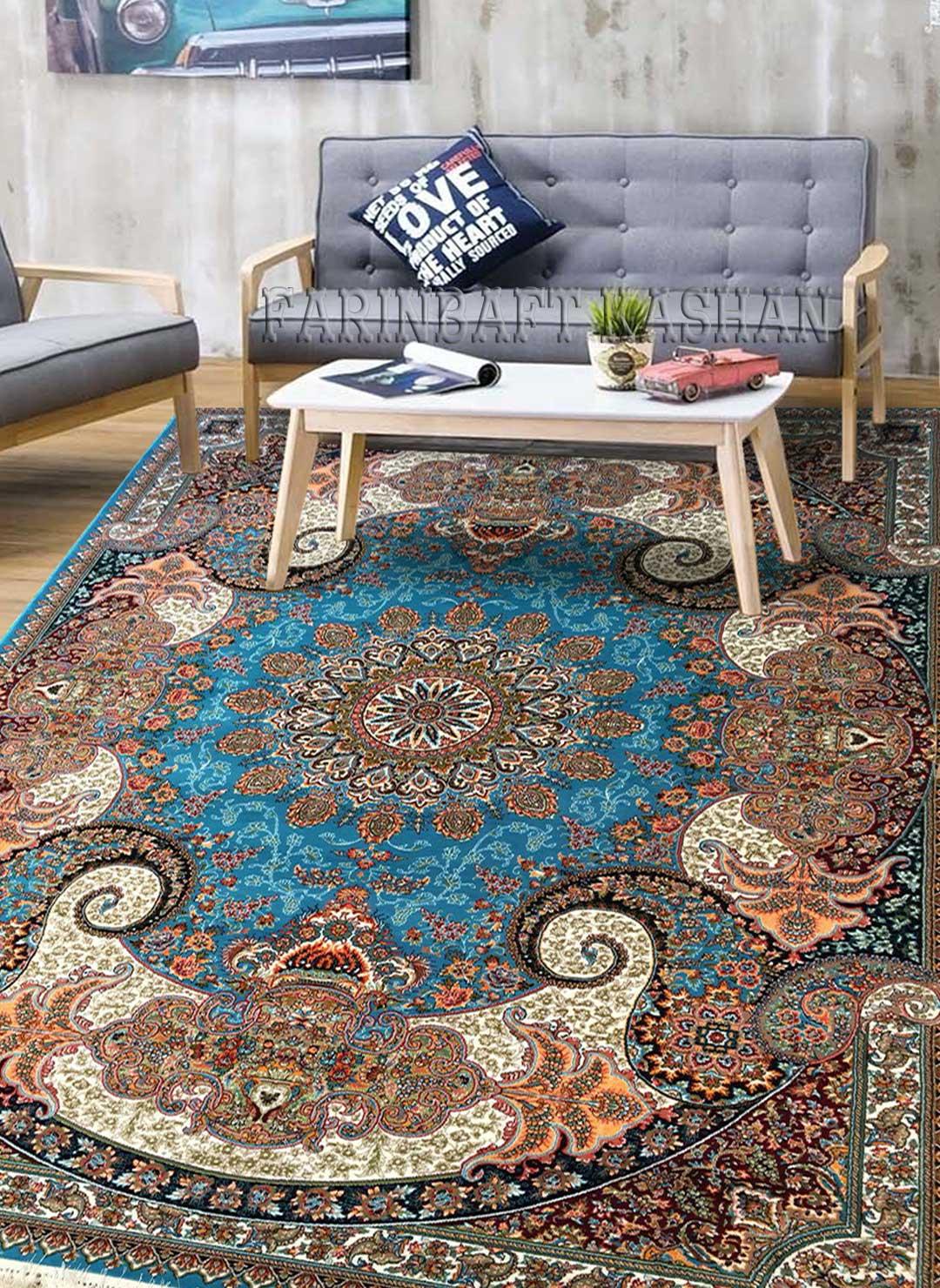 نمای بافته شده فرش آتوسا