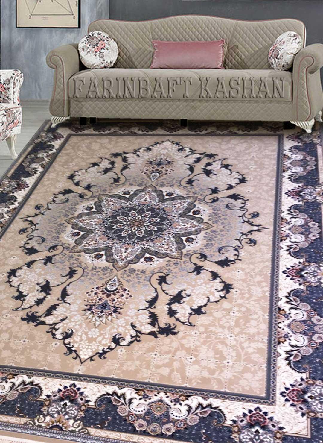 نمای بافته شده فرش هیوا