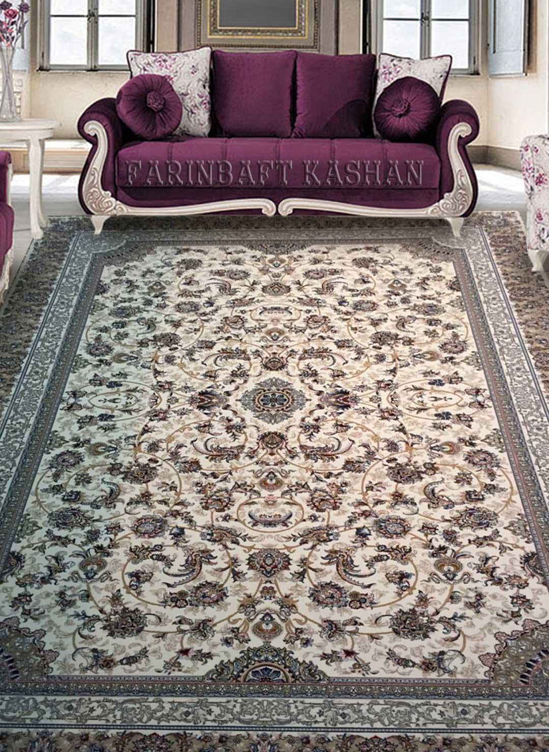 نمای بافته شده فرش افشان مدرن