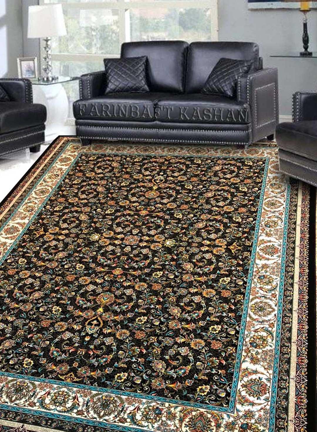 نمای بافته شده فرش افشان مهریز