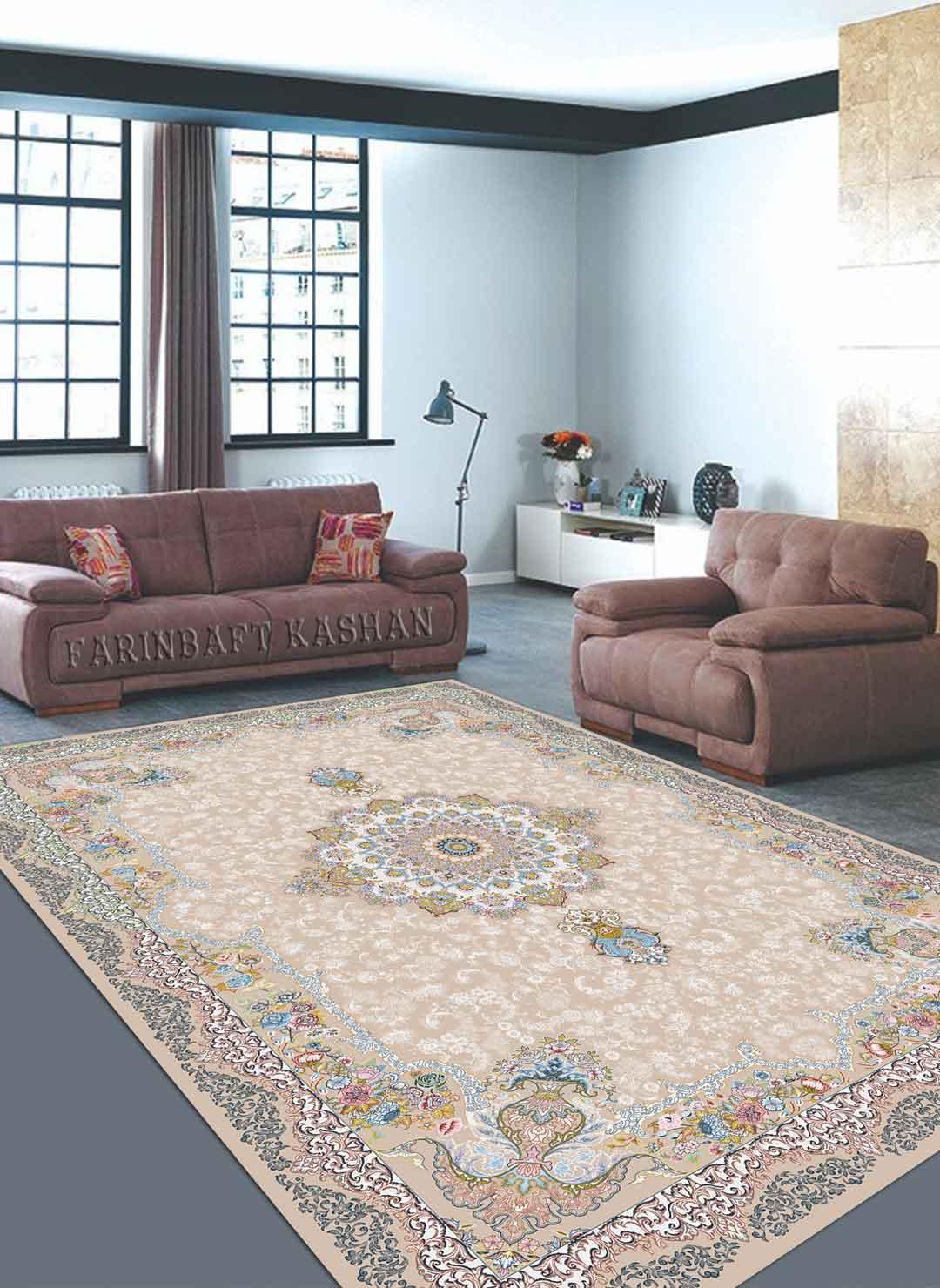 نمای بافته شده فرش دلپسند