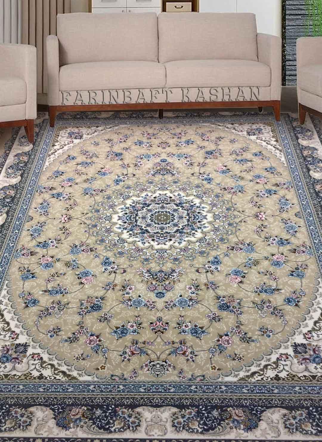 نمای بافته شده فرش گلستان