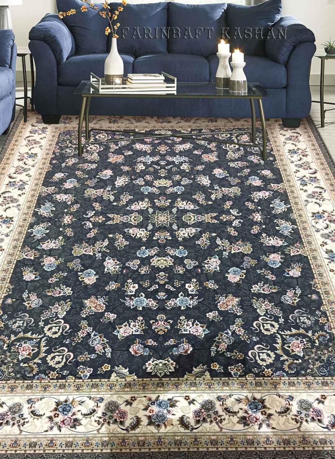 نمای بافته شده فرش گیلدا