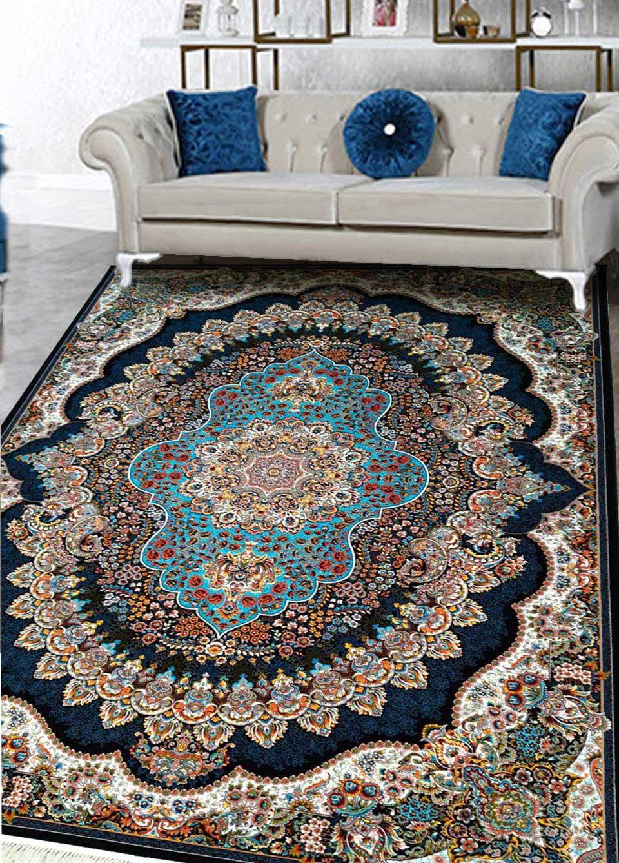 نمای بافته شده فرش ارکیده