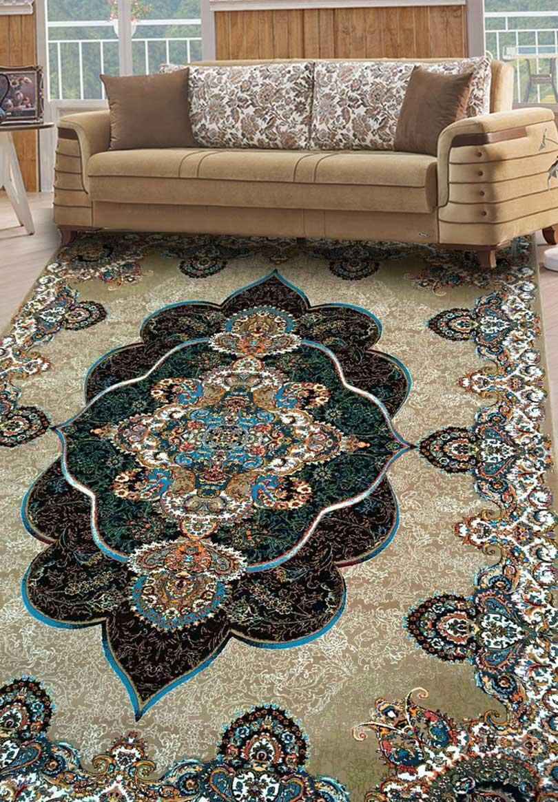 نمای بافته شده فرش پانیذ