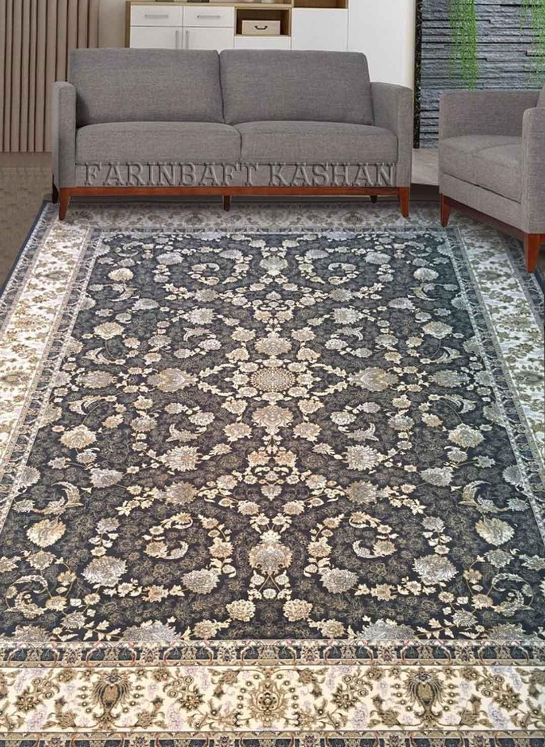 نمای بافته شده فرش افشان ماهرو
