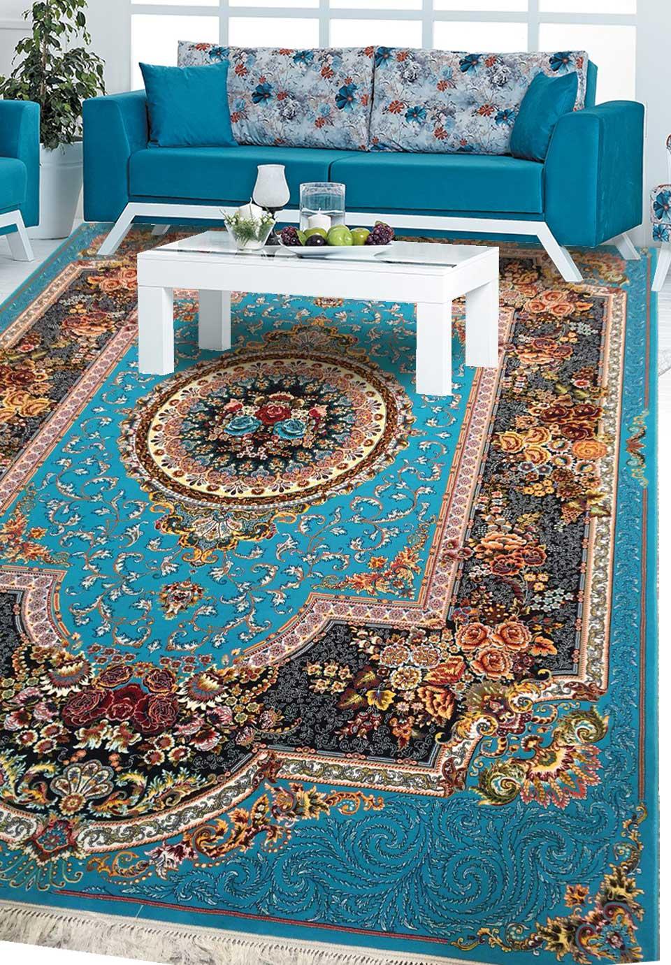 نمای بافته شده فرش رویال