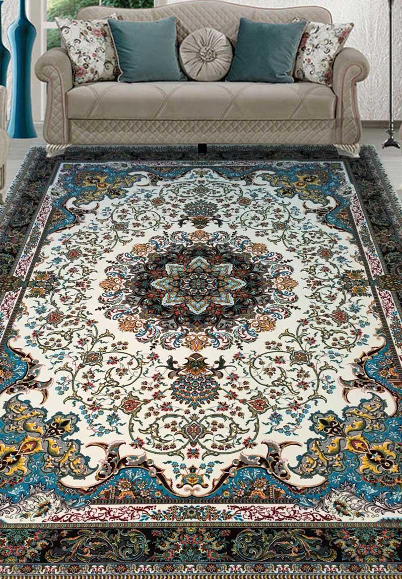 نمای بافته شده فرش سورن