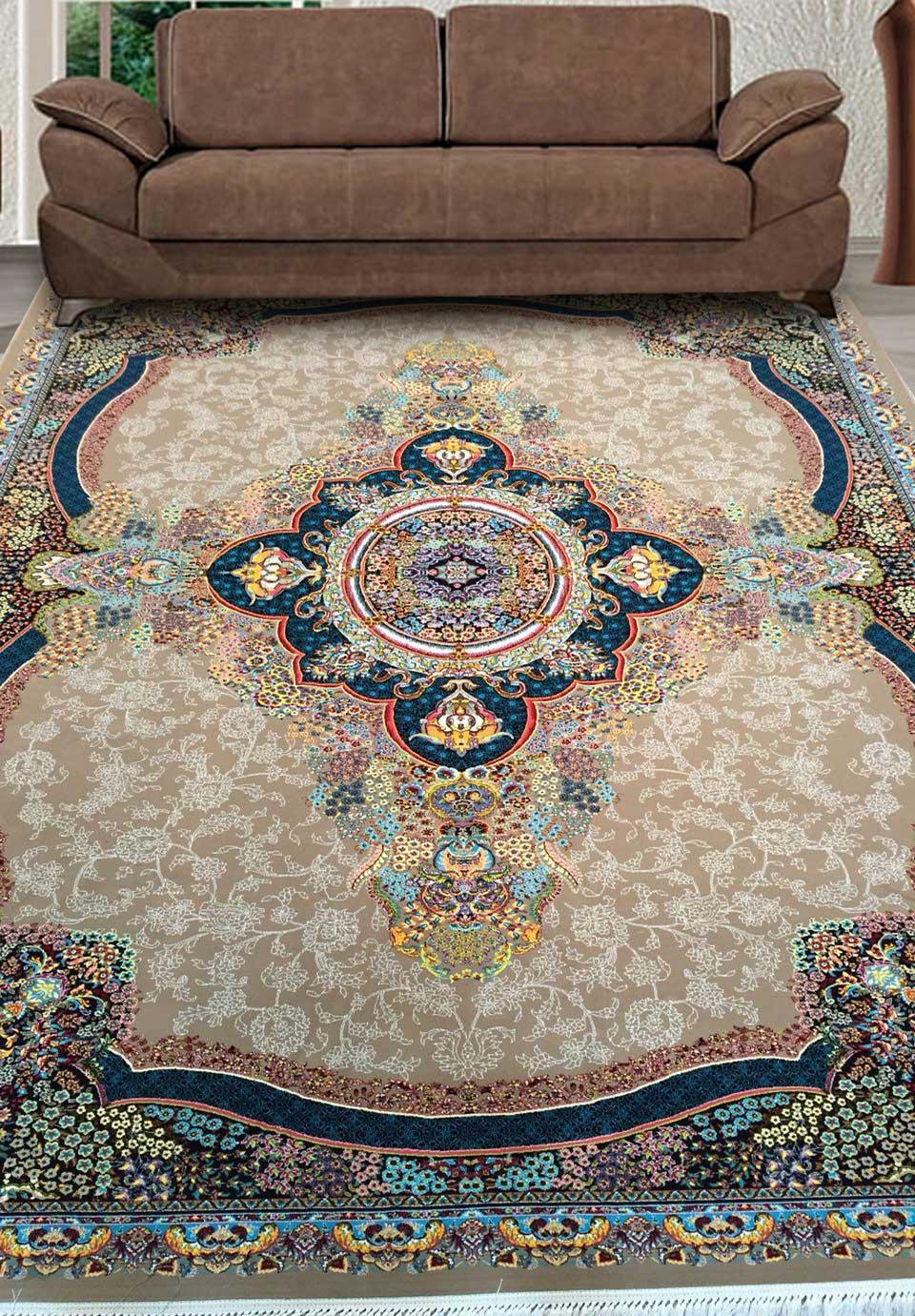 نمای بافته شده فرش ترلان