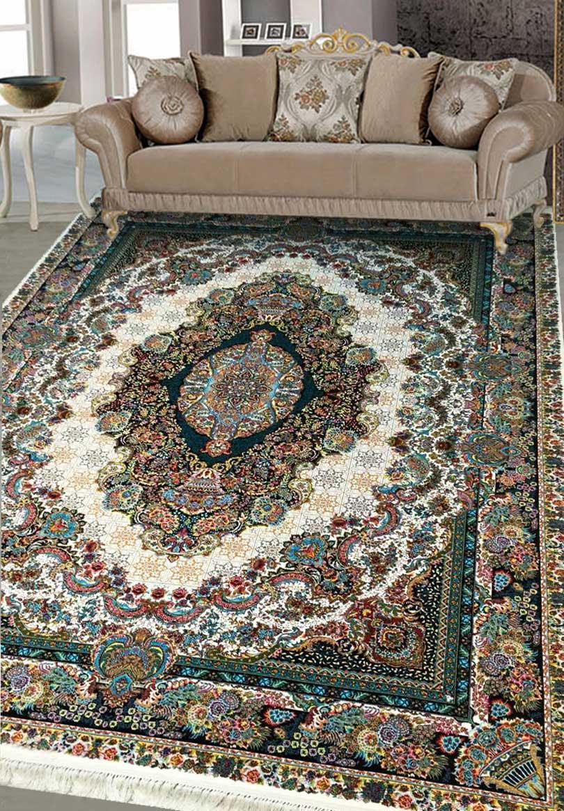 نمای بافته شده فرش تندیس