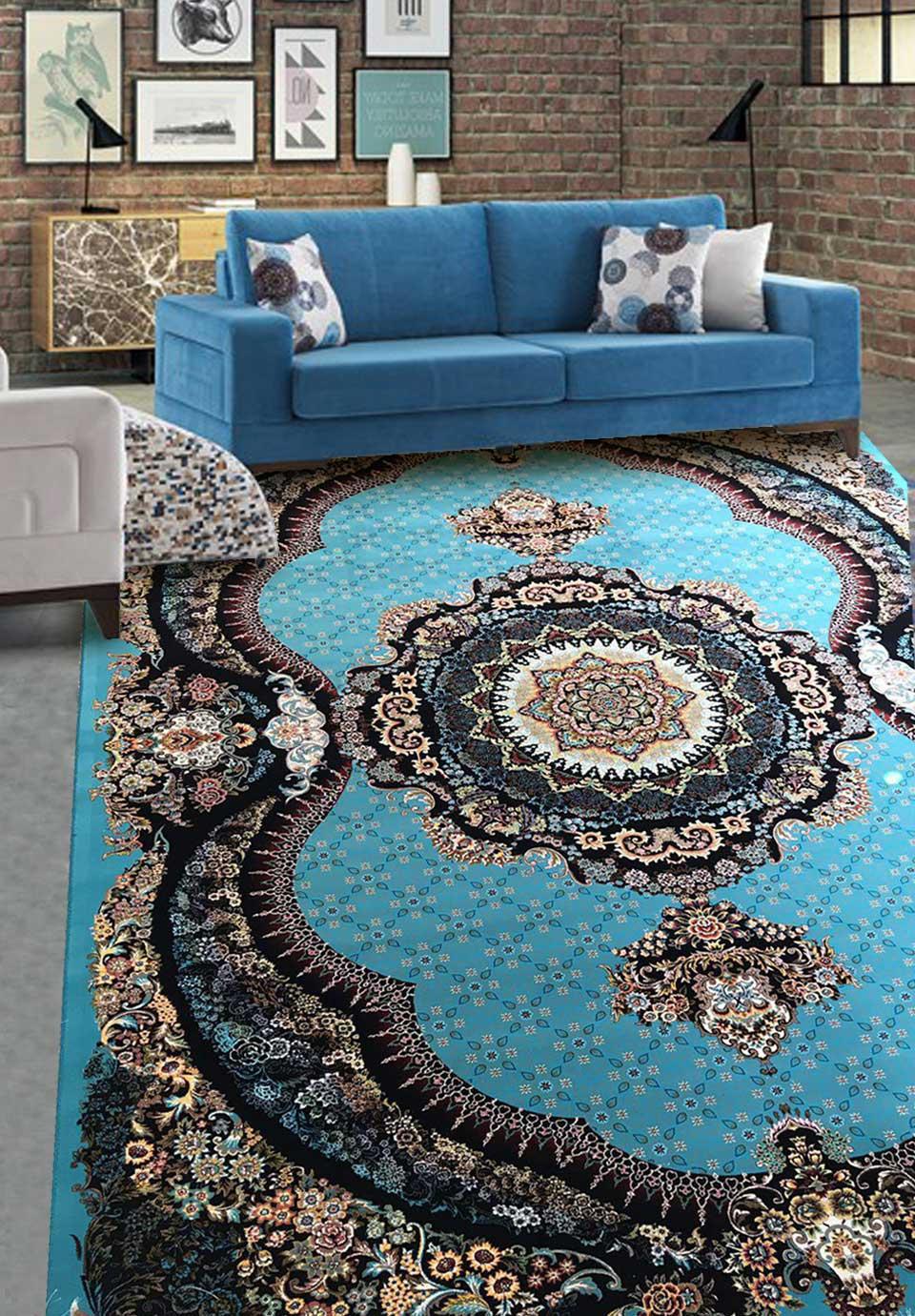 نمای بافته شده فرش یگانه